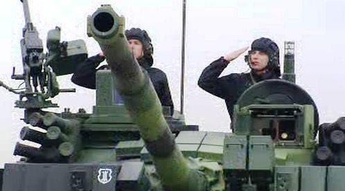 Posádka českého tanku