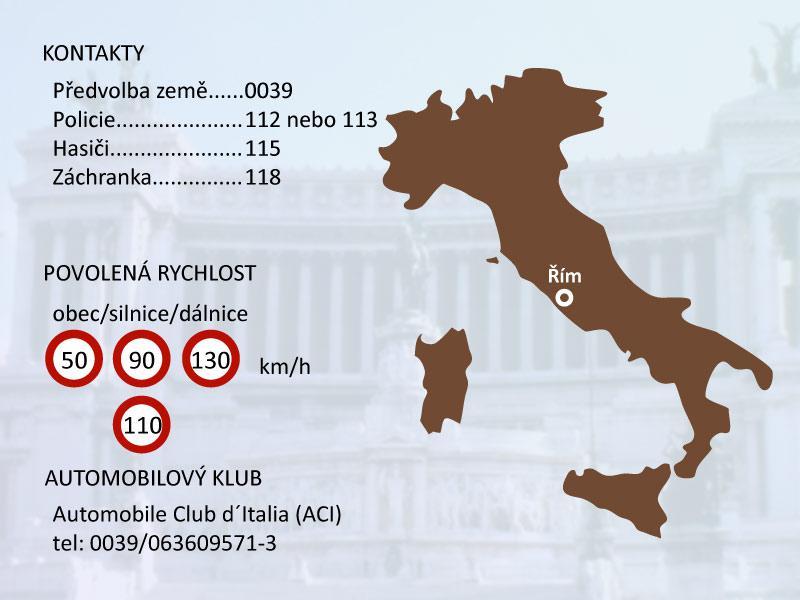 Základní informace o Itálii