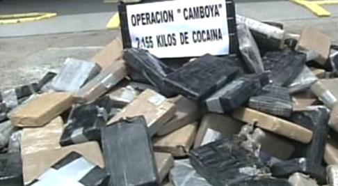 Zabavený kokain