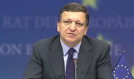 José Mannuel Barroso na summitu EU