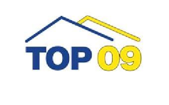 Bývalé logo politické strany TOP 09