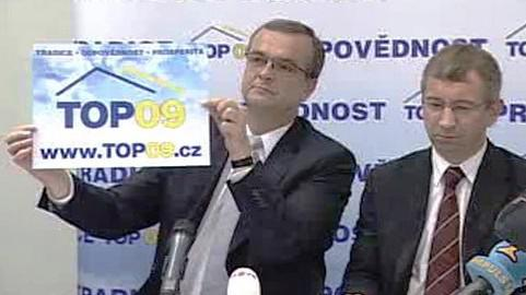 Miroslav Kalousek a Jaromír Drábek