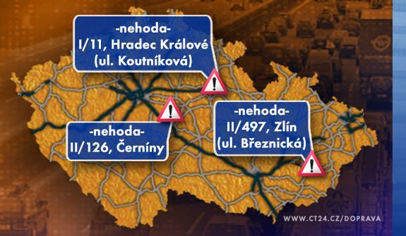 Dopravní situace ve čtvrtek 9. 7. 2009