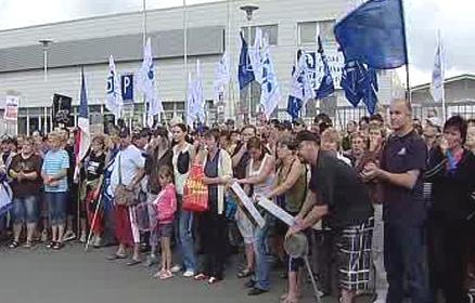 Stávka zaměstnanců Alcoy