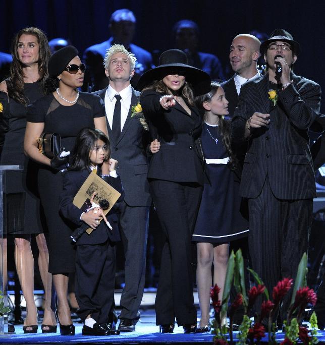 Poslední rozloučení s Michaelem Jacksonem