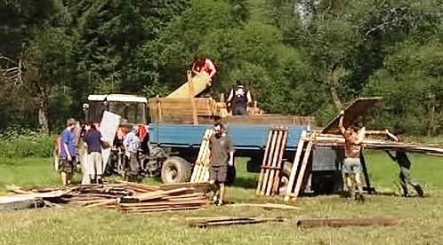 Stěhování dětského tábora