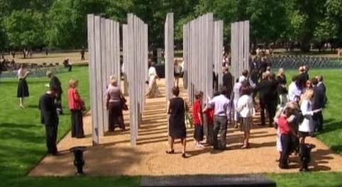 Památník v Londýně