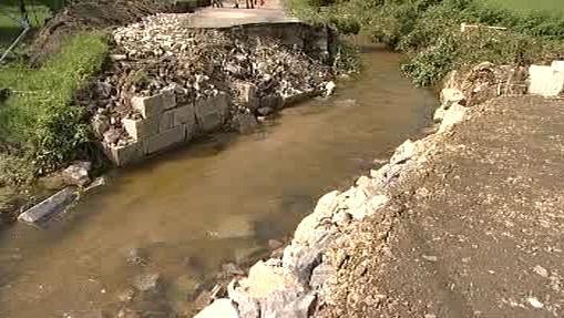 Červený potok na Jesenicku