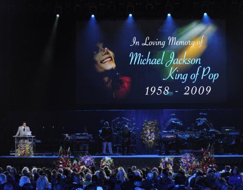 Rozloučení s Michaelem Jacksonem