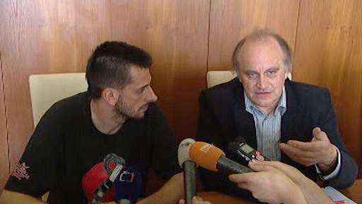 Michael Kocáb a Jan Němec
