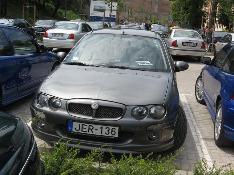Automobil z koncernu MG Rover