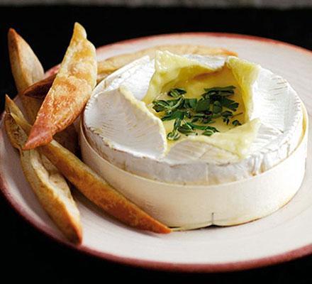 Rozpékaný sýr