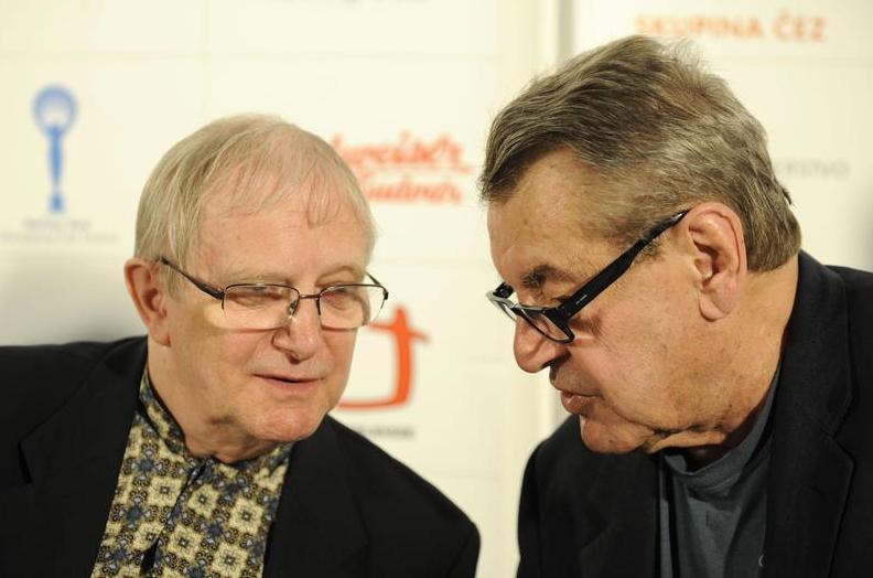 Jiří Suchý a Miloš Forman
