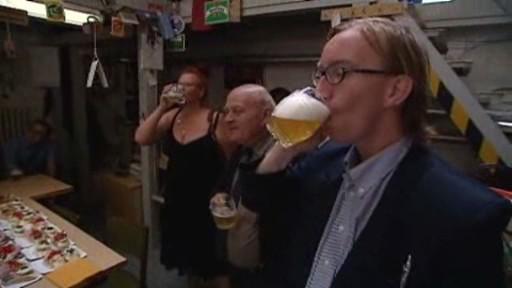 Degustace piva na VŠCHT