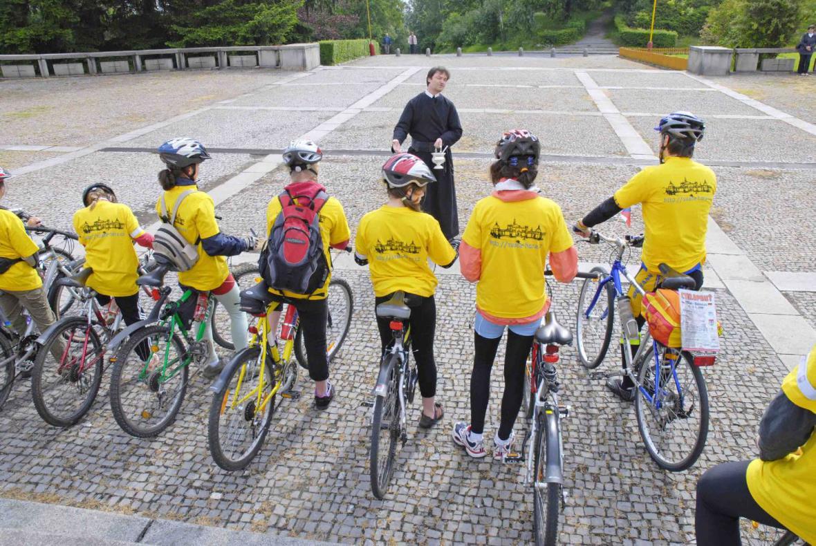 Cyklopouť Příbram - Bodenmais 2009