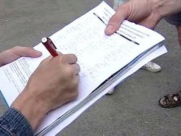Petiční akce