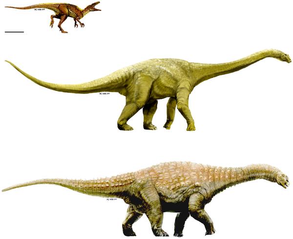 Nově objevení dinosauři