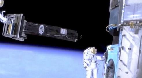 Simulace výpravy do vesmíru