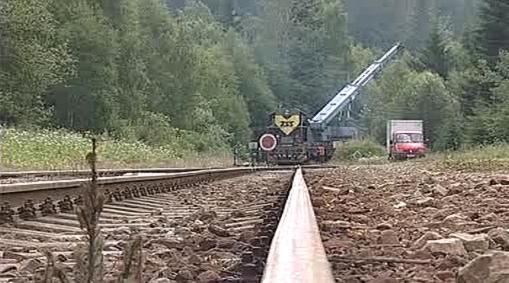 Upevňování traťových pilířů