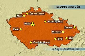 Prenatální centra v Česku