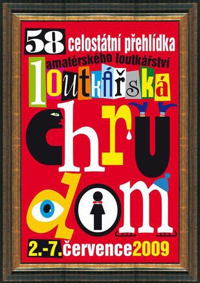 Loutkářská Chrudim - plakát