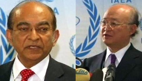 Abdul Samad Minty a Jukija Amano