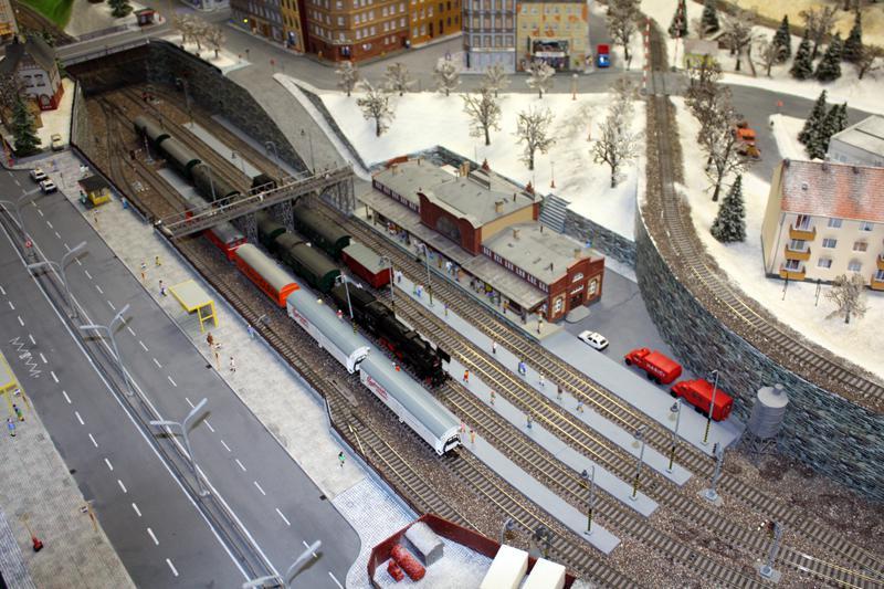Model nádraží