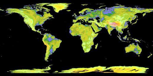 Digitální mapa Země