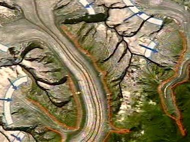 Družicový snímek