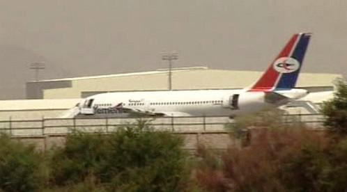 Letadlo jemenské letecké společnosti