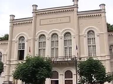 Budova Lázní III v Karlových Varech