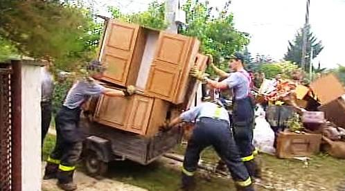 Odklízení škod po povodních