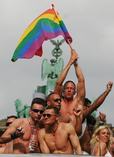 Tradiční pochod homosexuálů v Berlíně