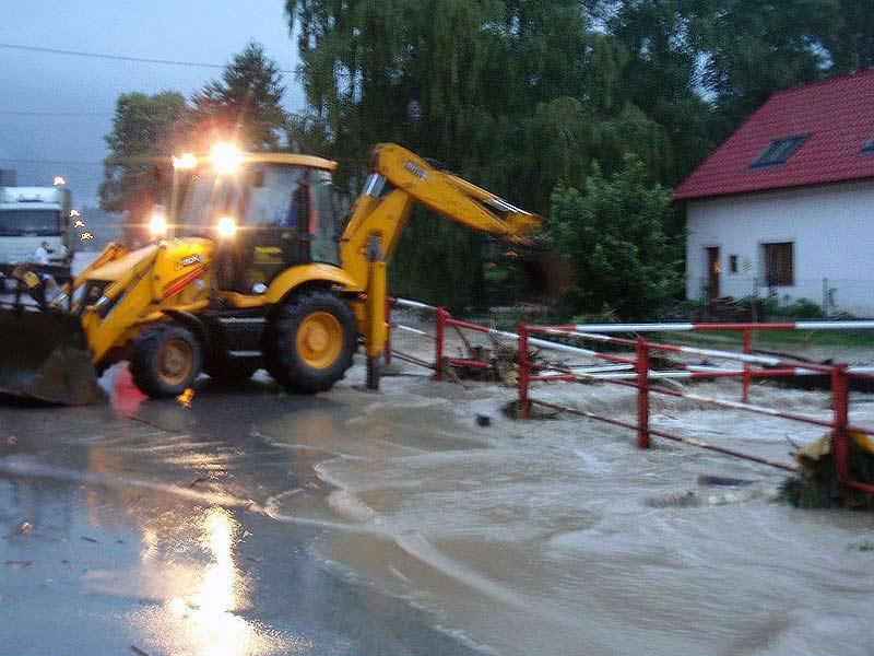 Odstraňování následků povodně