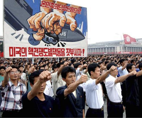 Demonstrace v KLDR