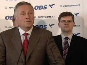 Mirek Topolánek a Jiří Pospíšil