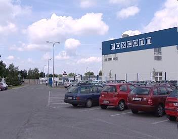 Areál firmy Foxconn