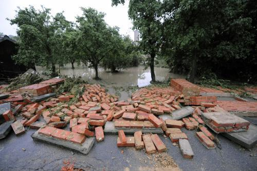Následky povodní v Kuníně