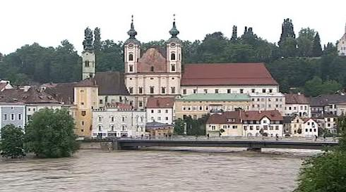 Záplavy v Rakousku
