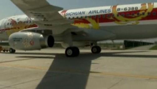 Airbus společnosti Sichuan Airlines