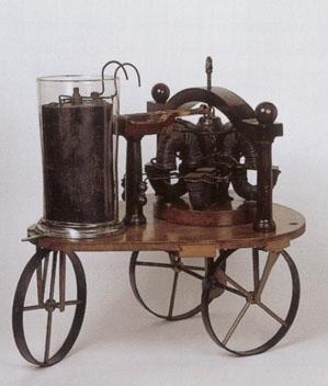 Model s elektromotorem Štefana Jedlíka