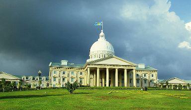 Vládní budova v palauském Melekeoku