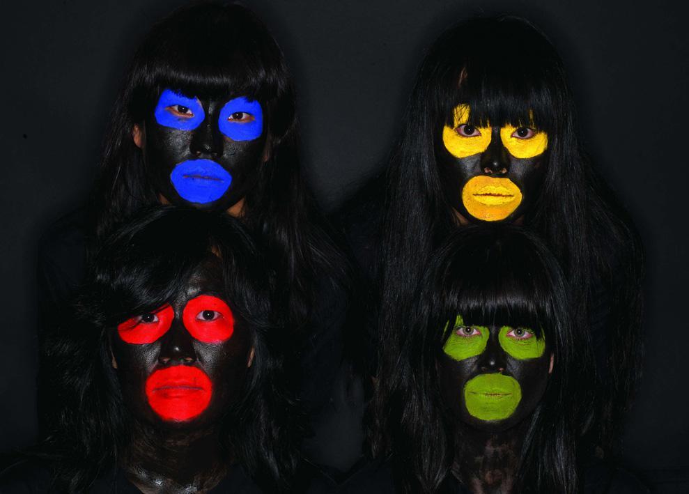 Olaf Breuning: Monkey Faces (2009)