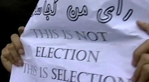 Demonstrace proti výsledkům íránských voleb