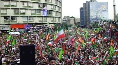Demonstrace v Íránu