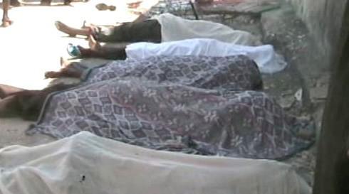 Oběti nepokojů v Somálsku