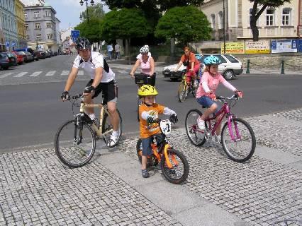 Město na kolech