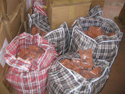 Nebezpečné arašídy z Vietnamu
