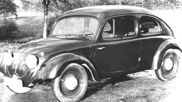 Volkswagen Brouk – raný model