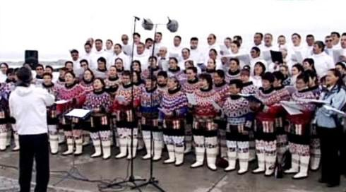 Oslavy autonomie Grónska
